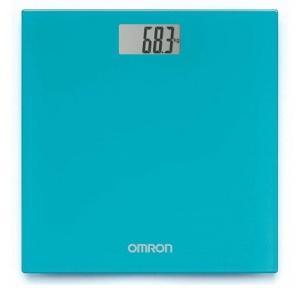 Omron Digital Weight Machine Ocean Blue HN-289