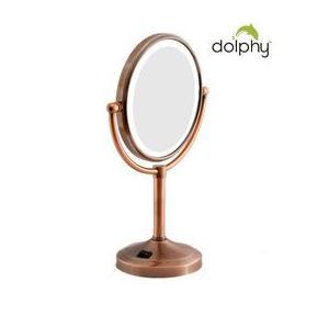 Dolphy Vanity Mirror 2 Sided Bronze 5x8 Inch, DMMR0027