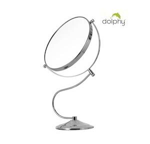 Dolphy Magnifying Mirror  Silver 8 Inch, DMMR0021