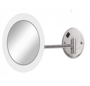 Dolphy Acrylic frame LED Mirror   8 Inch, DMMR0014