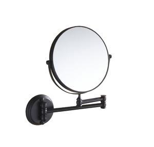 Dolphy Glossy Mirror Satin Glossy Mirror Satin Black 8x1x8 Inch, DMMR0031