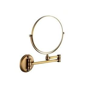 Dolphy Magnifying Mirror Stainless Steel Bronze 8 Inch, DMMR0004