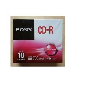Sony CD-R 1x10 With Pack