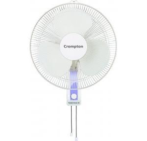 Crompton High Flo Wave 16 Inch Wall Mount Fan (White)