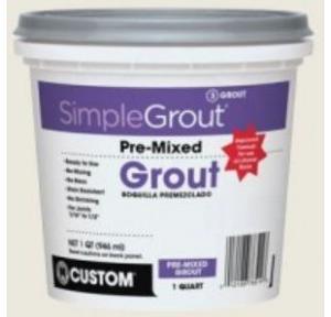 Standard White Grout for Tile