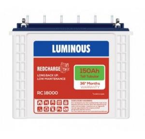 Luminous 150AH Tubular Inverter Battery RC18000ST
