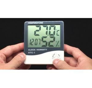 HTC Digital Indoor Hygrometer Thermometer 103-CTH Calibration with NABL Certificate