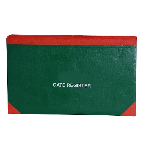 Gate Register (200 Pages)