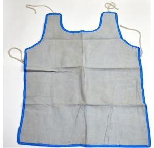 Gripwell White 2 Piece Leather Apron, Size: 24 x 36 inch