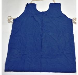 Gripwell Blue Jeans Cotton Cloth Apron, Size: 24 x 36 inch