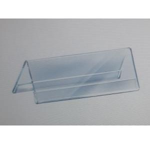 Acrylic Menu Tag Holder, Thickness- 2 mm, Size-120x55 mm