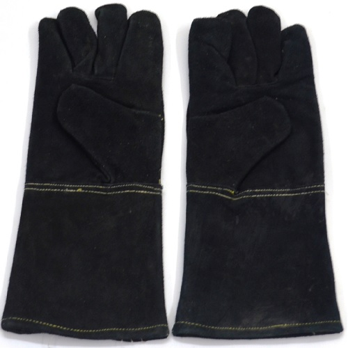 Gripwell Black Leather Gloves