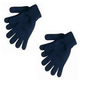 Blue Cotton Gloves