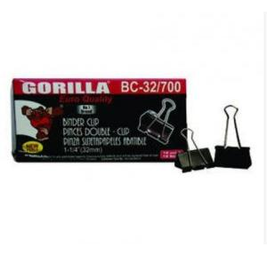 Gorila Binder Clip 32mm (Pack of 12 pcs)