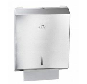 Dolphy Multifold Towel Paper Dispenser 304 SS, DPDR0028
