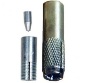 Lovely LTS 1112 Threaded Shield Drop-In Fasteners, Diameter: 22 mm, Length: 65 mm