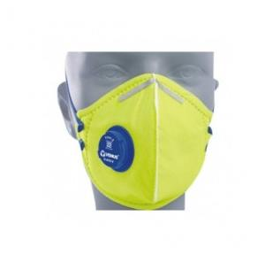 Venus V-410-V-FFP1S Yellow Rpd-Filtering Half Masks To Protect Against Parti, 14148