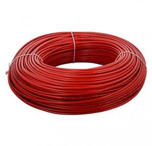Polycab 1.5 Sqmm 1 Core FR PVC Insulated Flexible Cable, Red, 1mtr
