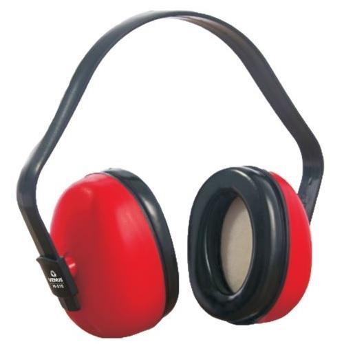Venus H-510 Red Ear Muff, 23 dB, 16014