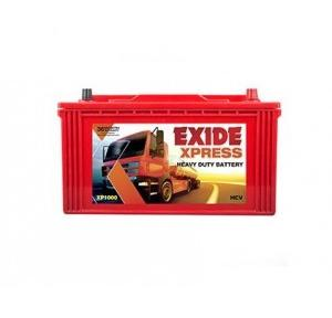 Exide Battery 12V 100AH, XP1000
