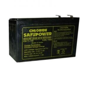 Exide Battery 12V 7AH, CS7-12