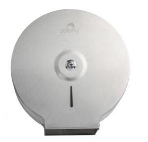 Dolphy Jumbo Roll Toilet Paper Dispenser Stainless Steel 201, DTPR0010