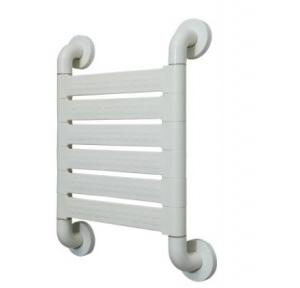 Dolphy Handicap Grab Bar WC Back Support Stainless Steel Tube Coated With 5mm Nylon 200 Kg 445x315 mm DHGB0007