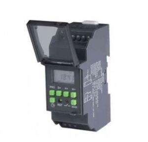 L&T Crono Timer Switch  (Daily Weekly Programmable Electronic 110 240 VAC) , 50/60 Hz, 1 C/O SPDT Cat. No. : 67DDT0 (Black)