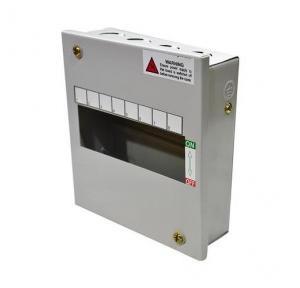 Indo Gold MCB Box Single Door, 8 Way, 53030
