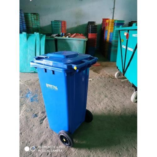 Sheetal Plastic Dustbin,120 Ltr, Color ( Green )