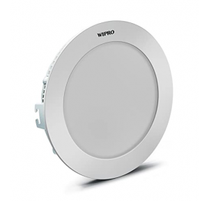 Wipro Ceiling Light Cat-D811265, 12w, CCT-6500K, Voltage-220-240VAC, Made in India W11-E18