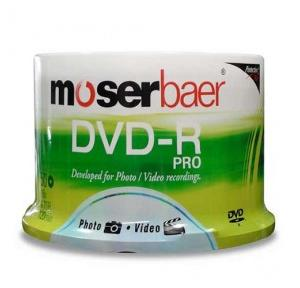 Moser Baer DVD-R Pro ( Pack Of 50 )
