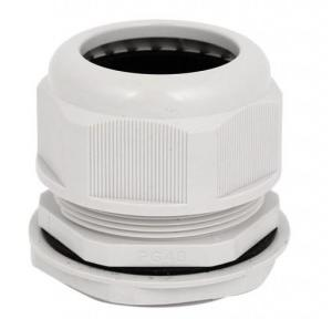 Zetalux Cable Gland Metric Thread Nylon 4.5-8 mm, Outer Dia: 12mm, MG12A