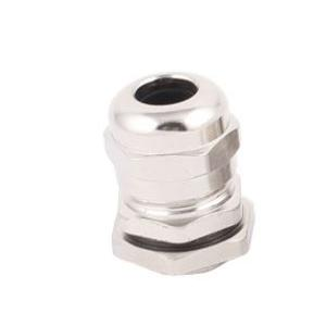 Zetalux PG Metal Cable Gland Brass With Nickel Plated 8-4 mm, Outer Dia: 15.2mm, PG-9