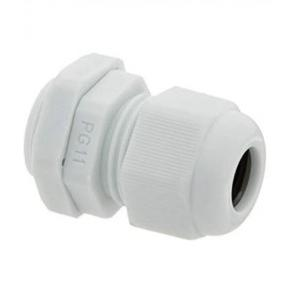 Zetalux Gland PG Thread Nylon 5-10 mm, Outer Dia: 18.6mm, PG-11