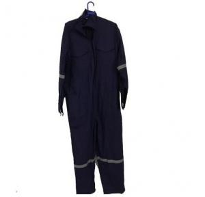 AIQS SD03 Dungaree 400 GSM Cloth With Brass Chain And Reflexive Tape