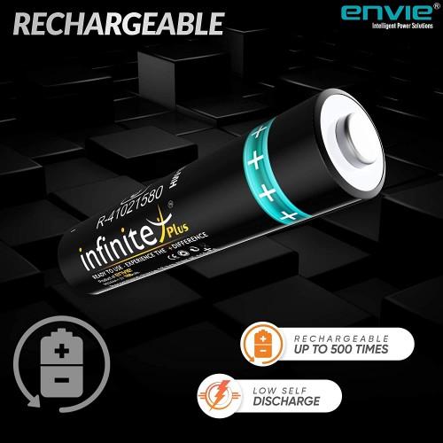 Envie Rechargeble Cell AAA, 1.2V, 1100mAh