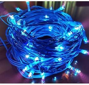 Diwali Decoration Light (LED String) 15 Mtr., Color-Blue