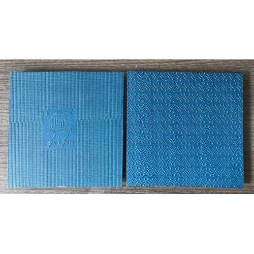 Shocksafer Electrical Insulation Polymer Rubber Mat , ( Elastomer Based ), Blue, 5x3 Ft