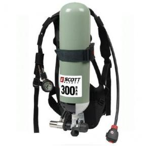 3M SCOTT SIGMA 2 type 2 SCBA set ( EN 137:2006 ) includes composite back plate, standard carrying harness, cylinder strap with cam-lock, pressure reducer, integrated lung demand valve (LDV)