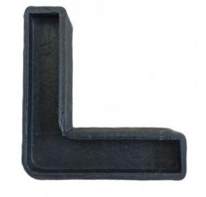 PVC Door L Clamp 2 Inch (Pack of 100 pcs)