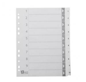 Cardboard File Divider ( 1-10 )