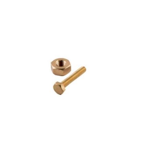 Brass Nut & Bolt (Diameter: 3 MM, Length 30MM)