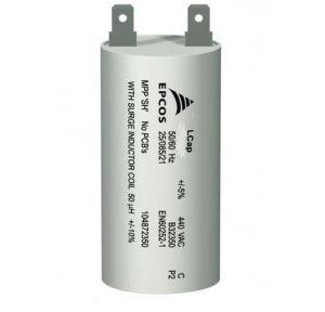 EPCOS Capacitor 8mfd, Pin type