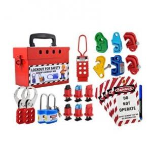 Loto Group Lockout Tagout Loto Kit 16 Items with Box