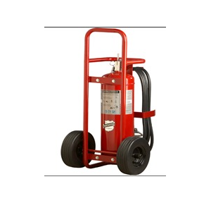 Fire Extinguishers Metal Stand With 2 Wheels for 9kg ABC Cylinder