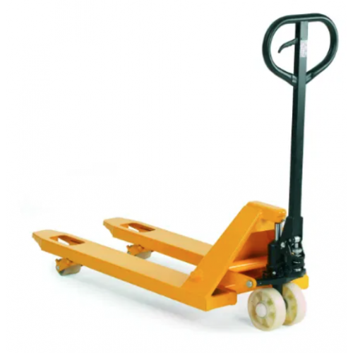 Solwet Hand Pallet Truck Trolley With Nylon Wheels, Fork Length –1150mm, Width 550mm, Steering Wheel Diameter –180 x 50mm, Model No. SM-HPT3T,