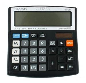 Citizen CT-500JS 12 Digit Calculator