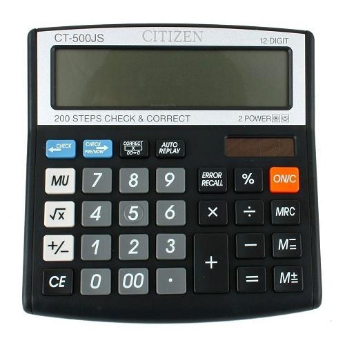 Citizen CT-500JS 12 Digit Calculator