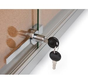 Showcase Sliding Glass Door Lock
